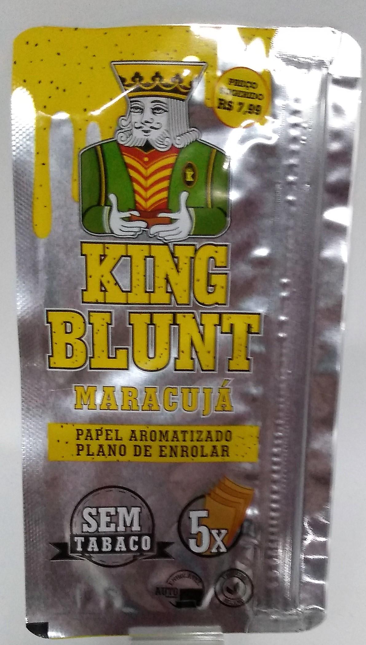 Papel Blunt King Blunt Maracujá