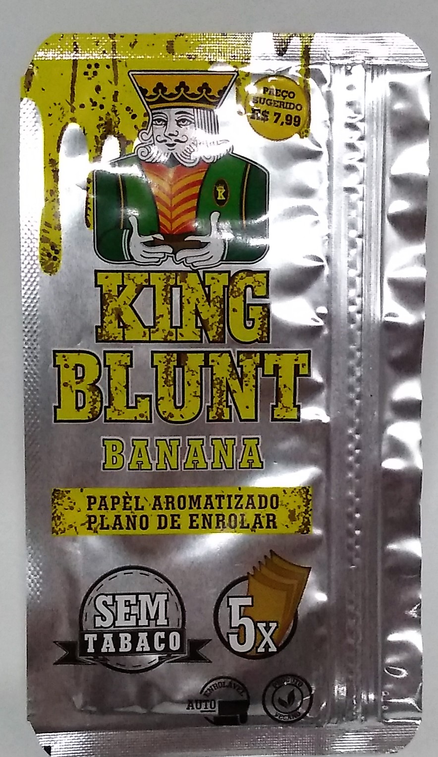 Papel Blunt King Blunt Banana