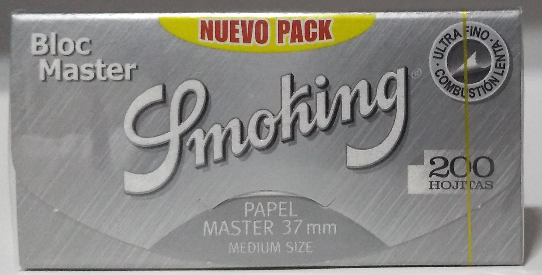 Papel Smoking Master bloc 1.1/4