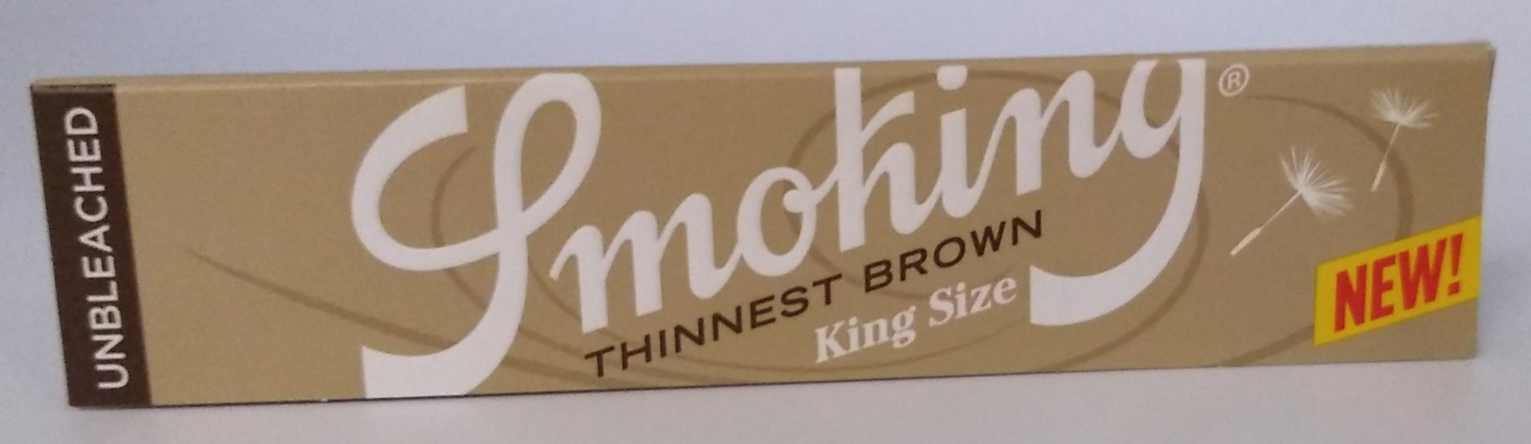 Papel Smoking Thinnest Brown King Size
