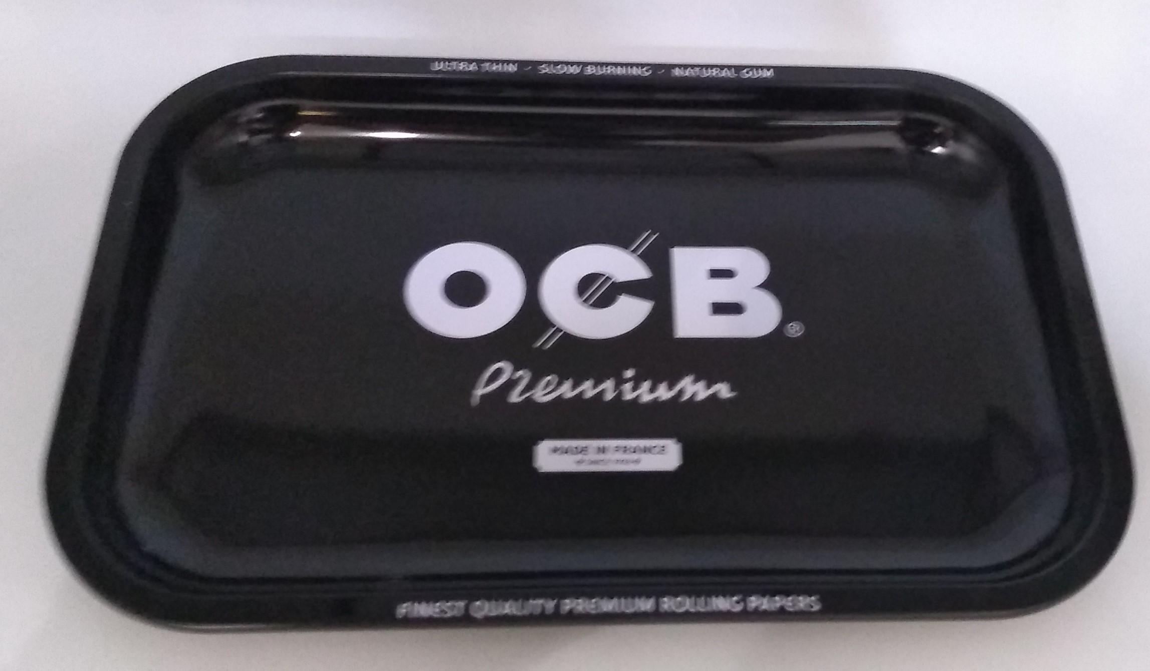 Bandeja Metal OCB Preta Grande