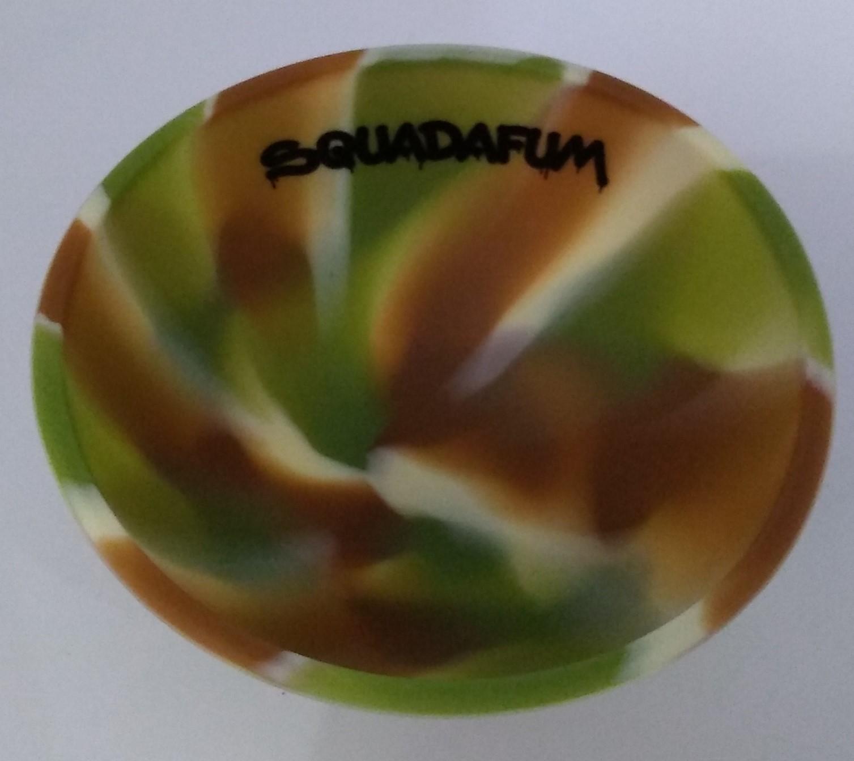 Cuia de Silicone-Verde Mesclado