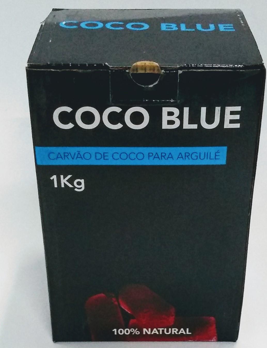 Carvão Coco Blue  Caixa