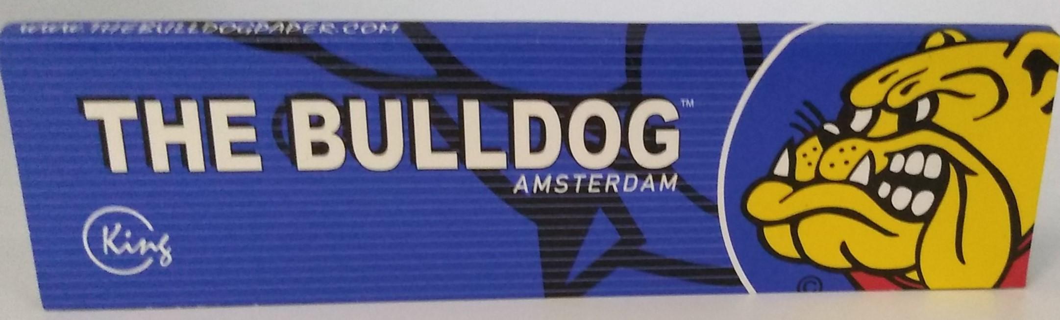 Papel The Bulldog Blue King Size