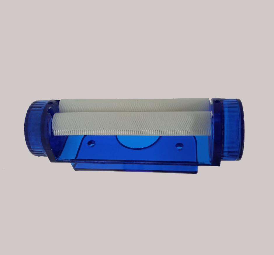 Maquina Com Triturador Azul