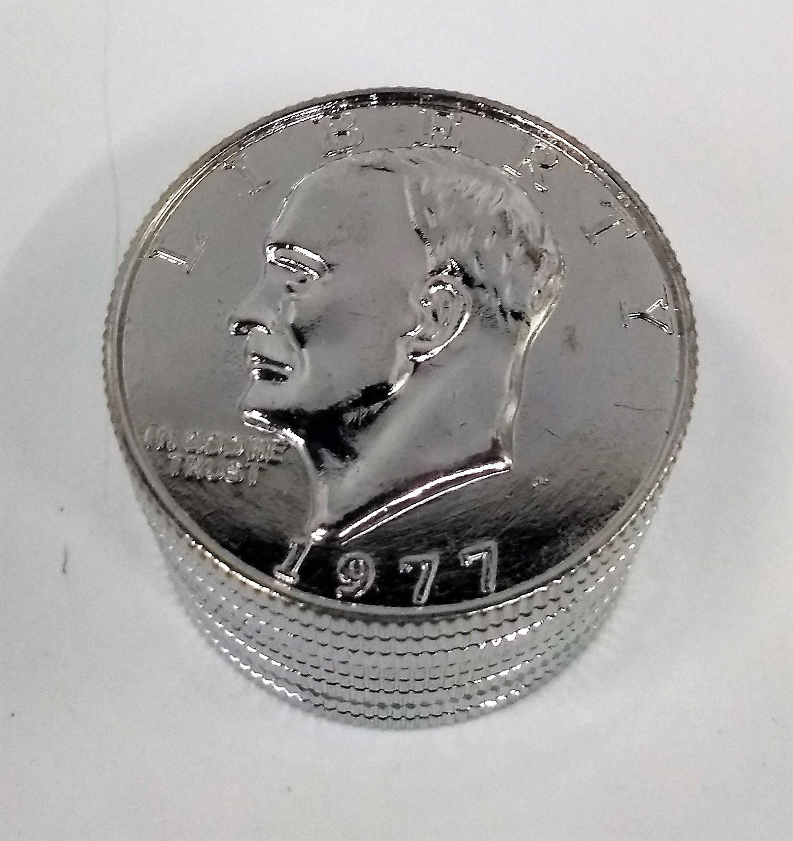 Triturador Metal Dólar