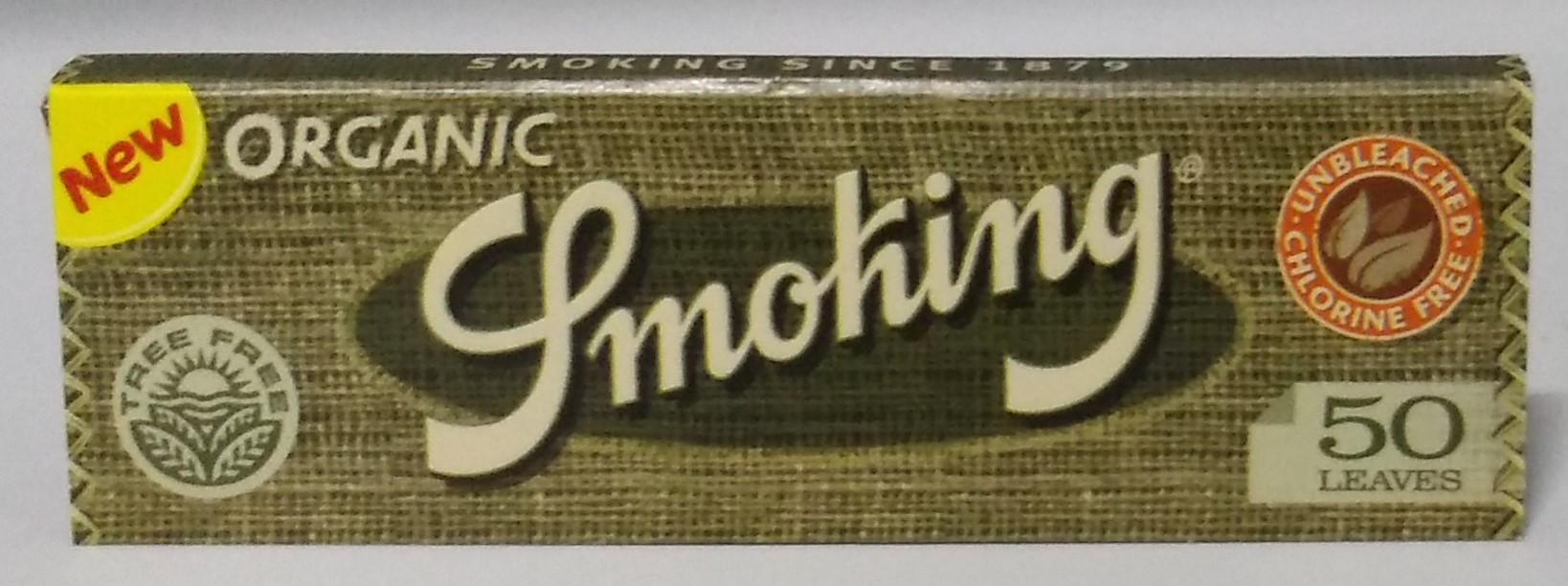Papel Smoking Orgânica  1.1/4