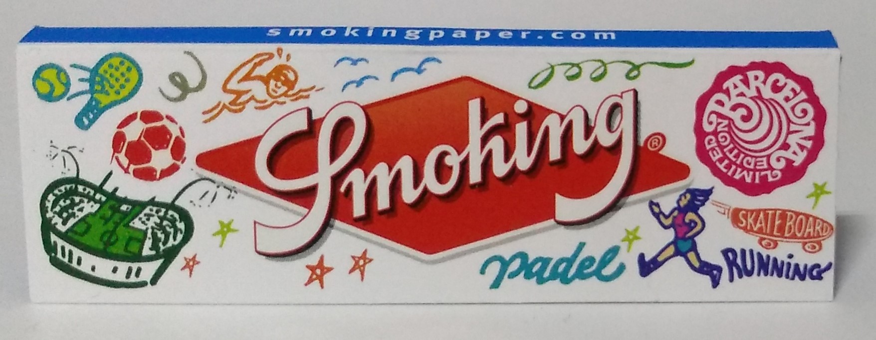 Papel Smoking Blue  Nº8