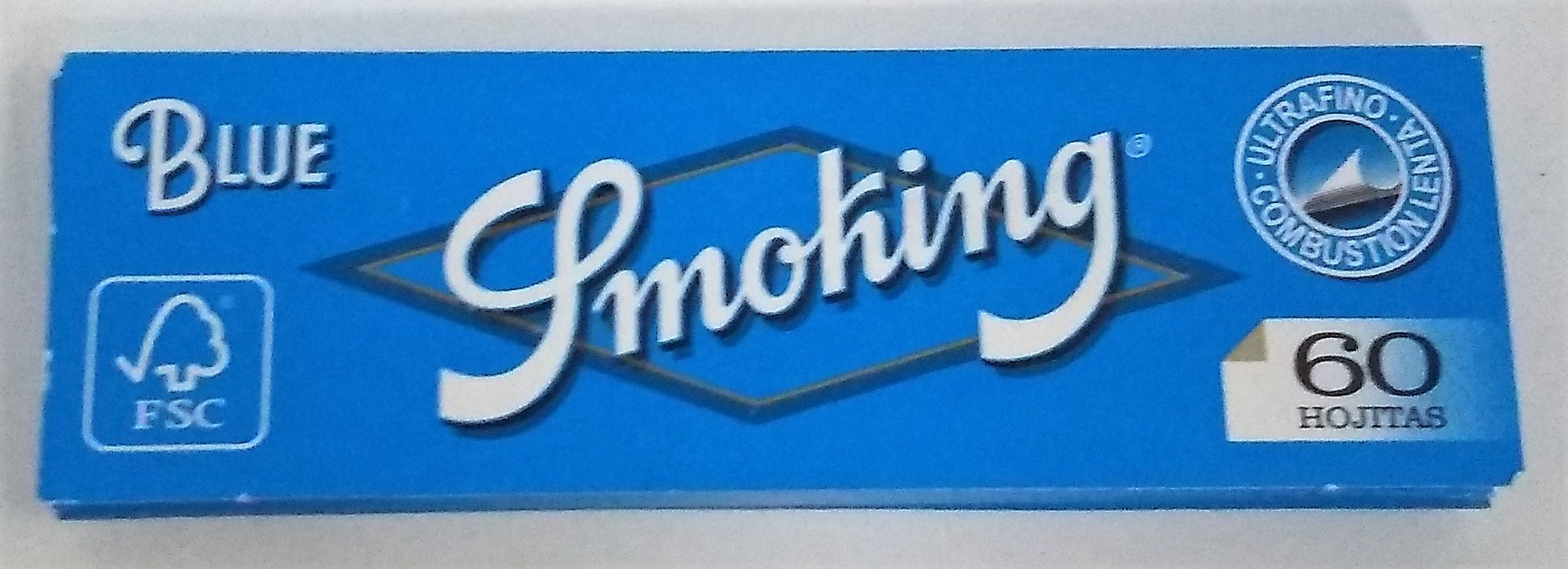 Papel Smoking Blue  Nº8