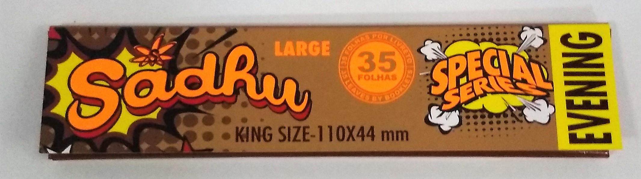 Papel Sadhu Brown King Size