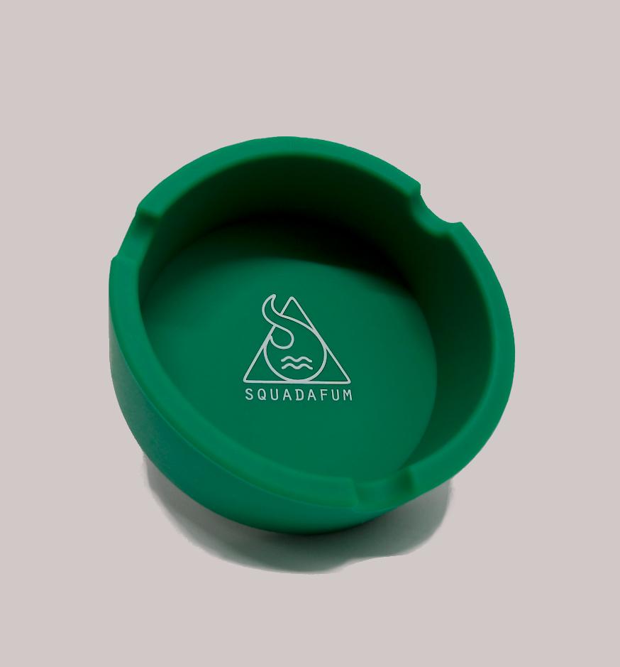 Cinzeiro para Cigarro Redondo  Squadafum Verde