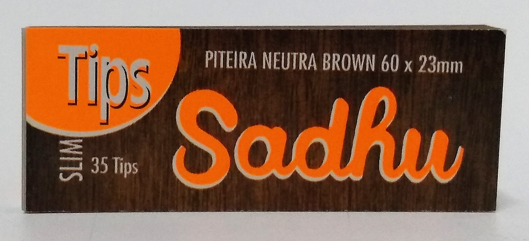 Tips Sadhu Brown Slim