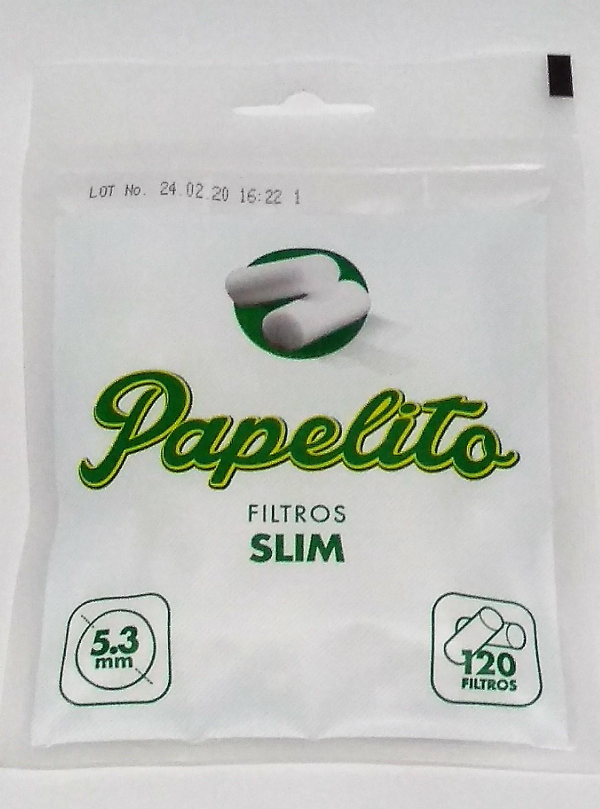 Filtro Papelito Extra Slim