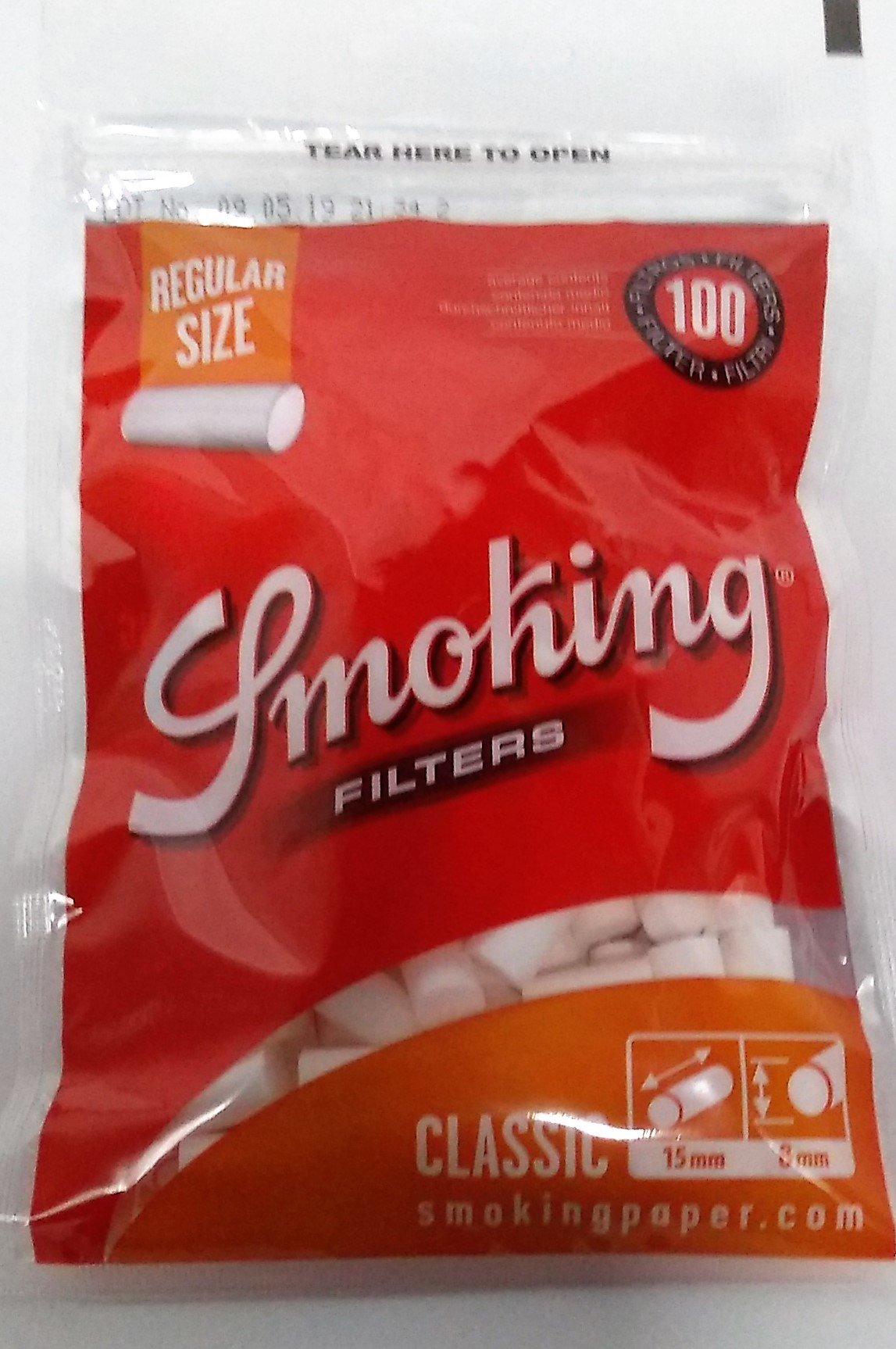 Filtro Smoking Regular