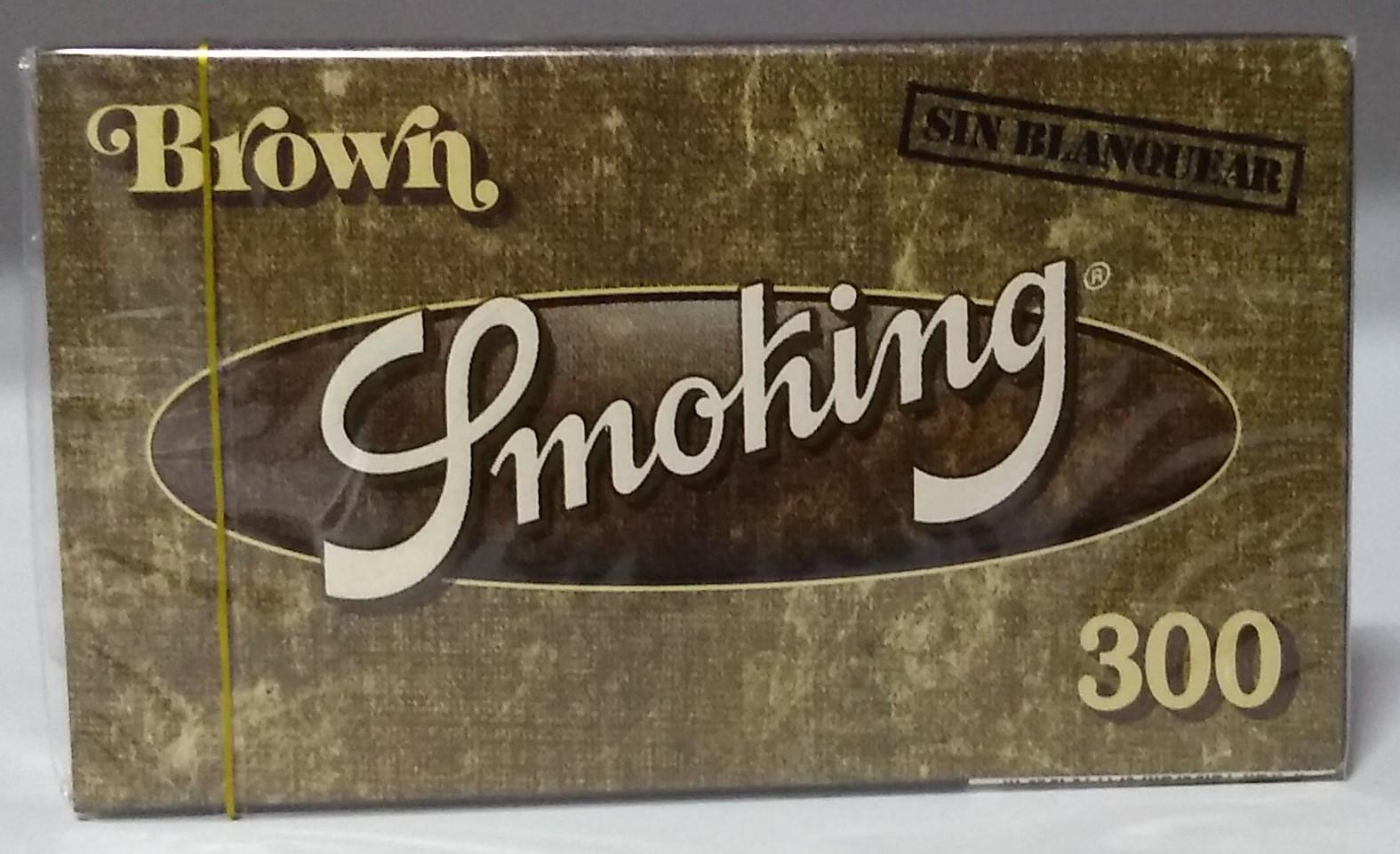 Papel Smoking Brown Bloc 300 1.1/4