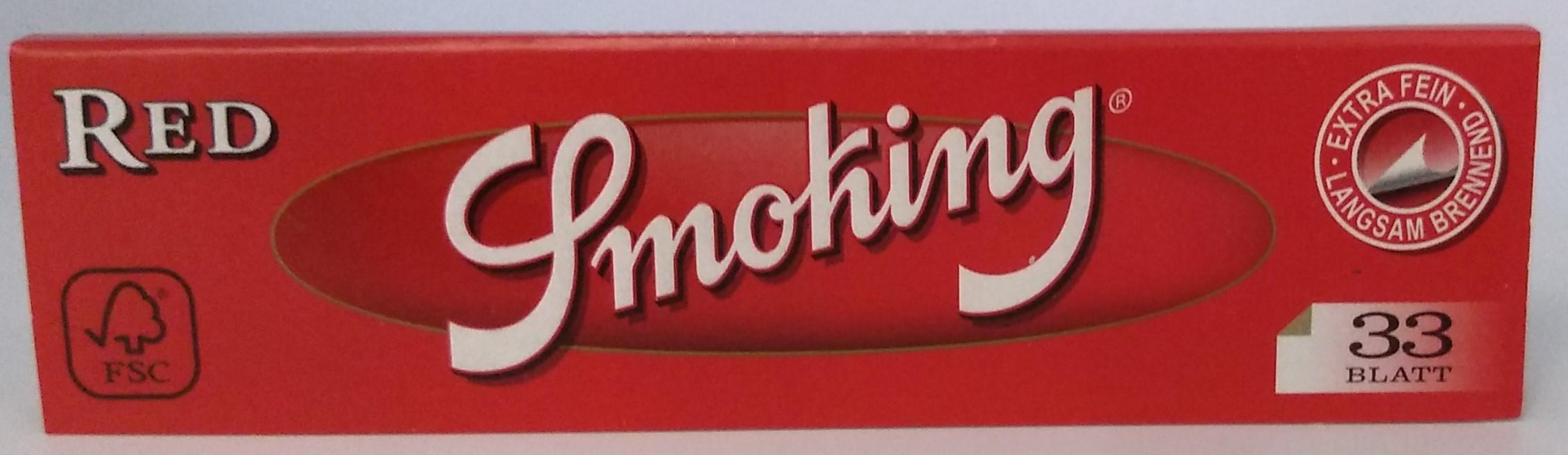 Papel Smoking Red King Size