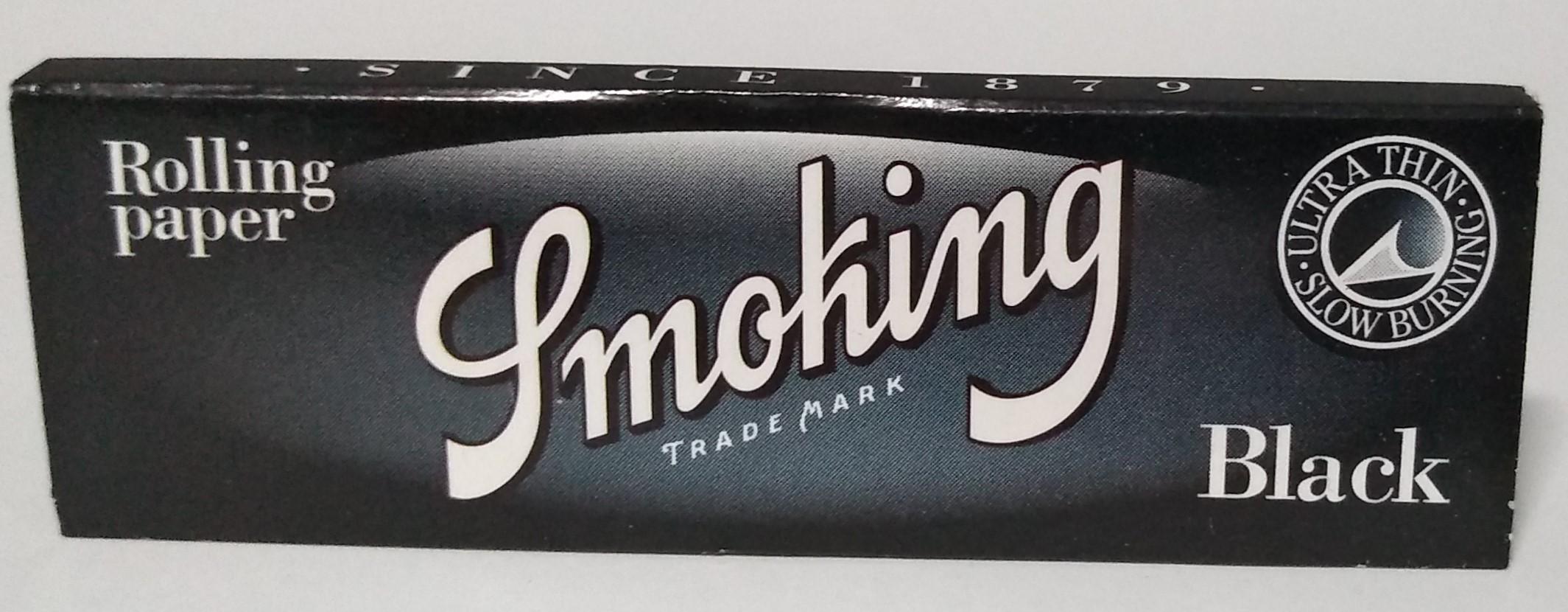 Papel Smoking Black 1.1/4