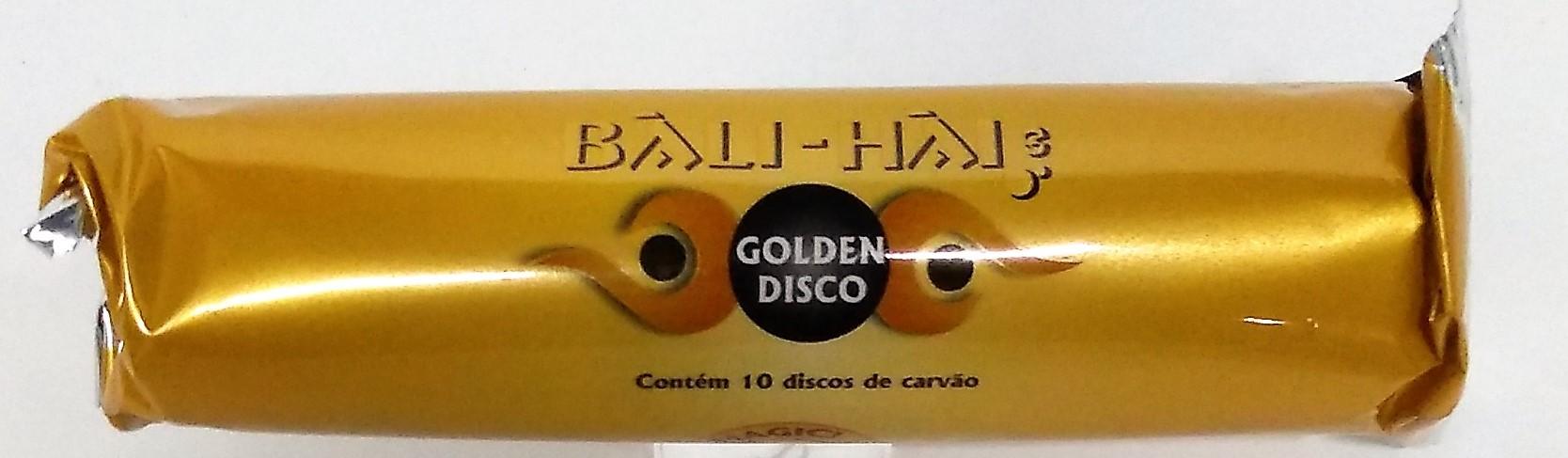 Carvão Bali-Hai Gold Disco