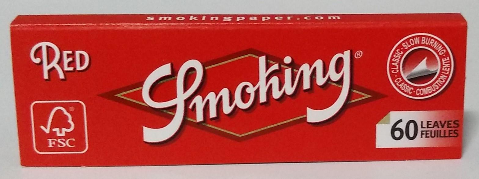 Papel Smoking Red Nº8