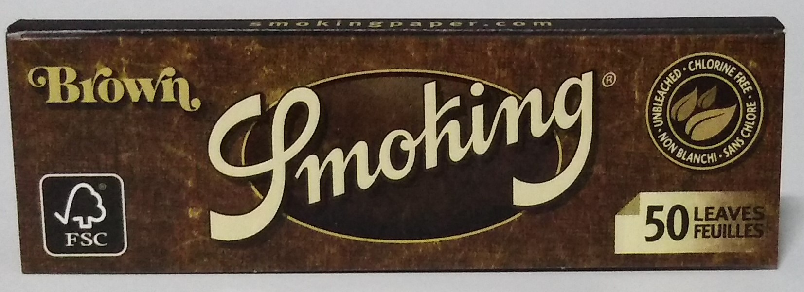 Papel Smoking Brown 1.1/4