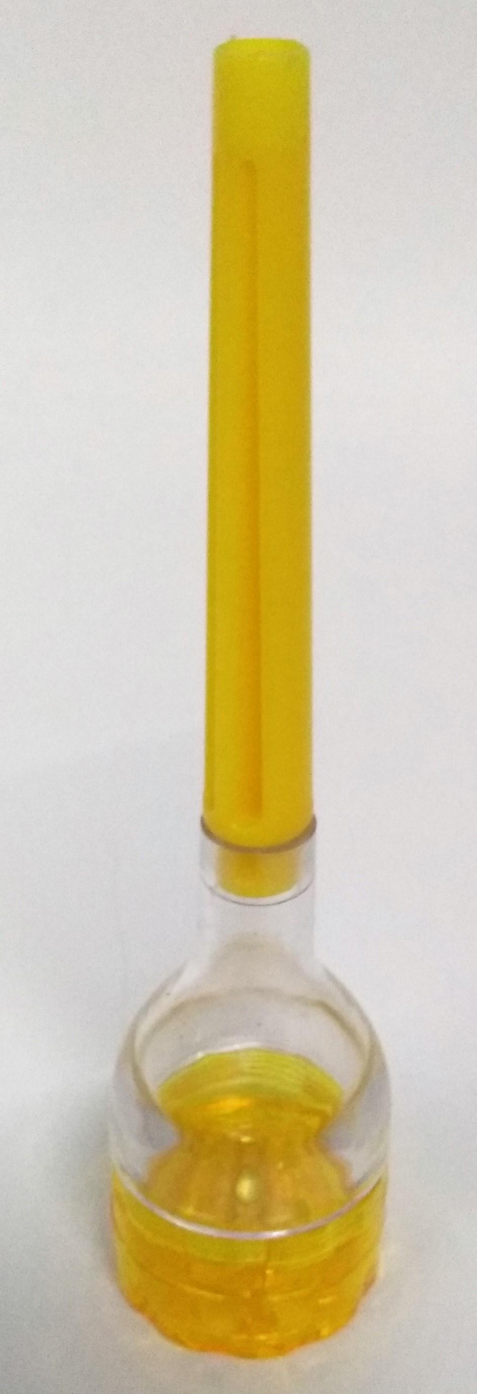 Triturador Acrílico Cone Amarelo