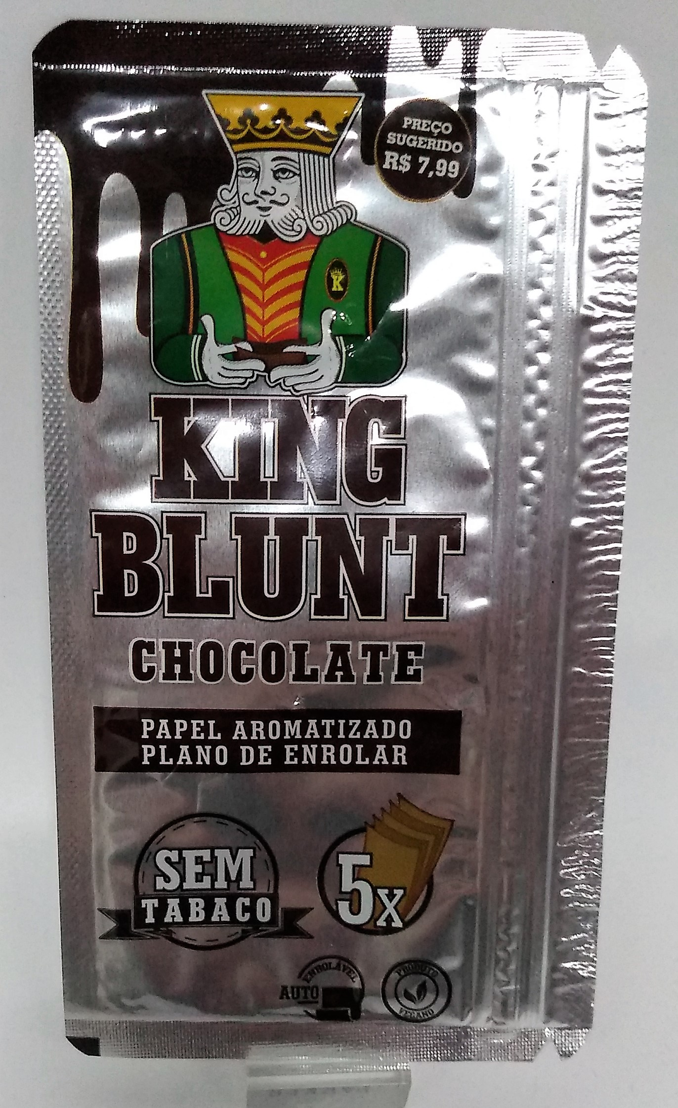 Papel Blunt King Blunt Chocolate