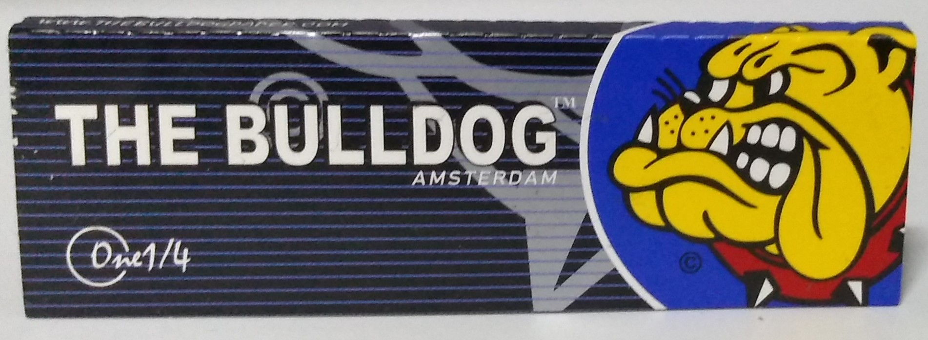 Papel The Bulldog Black 1.1/4