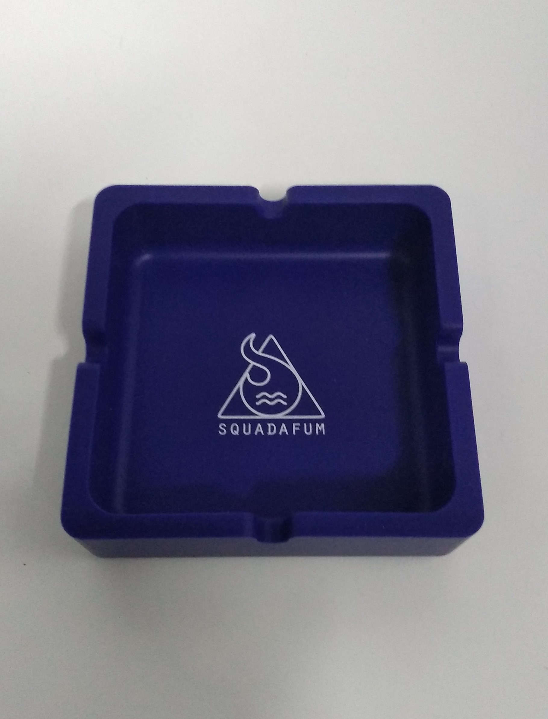 Cinzeiro Quadrado Squadafum Azul