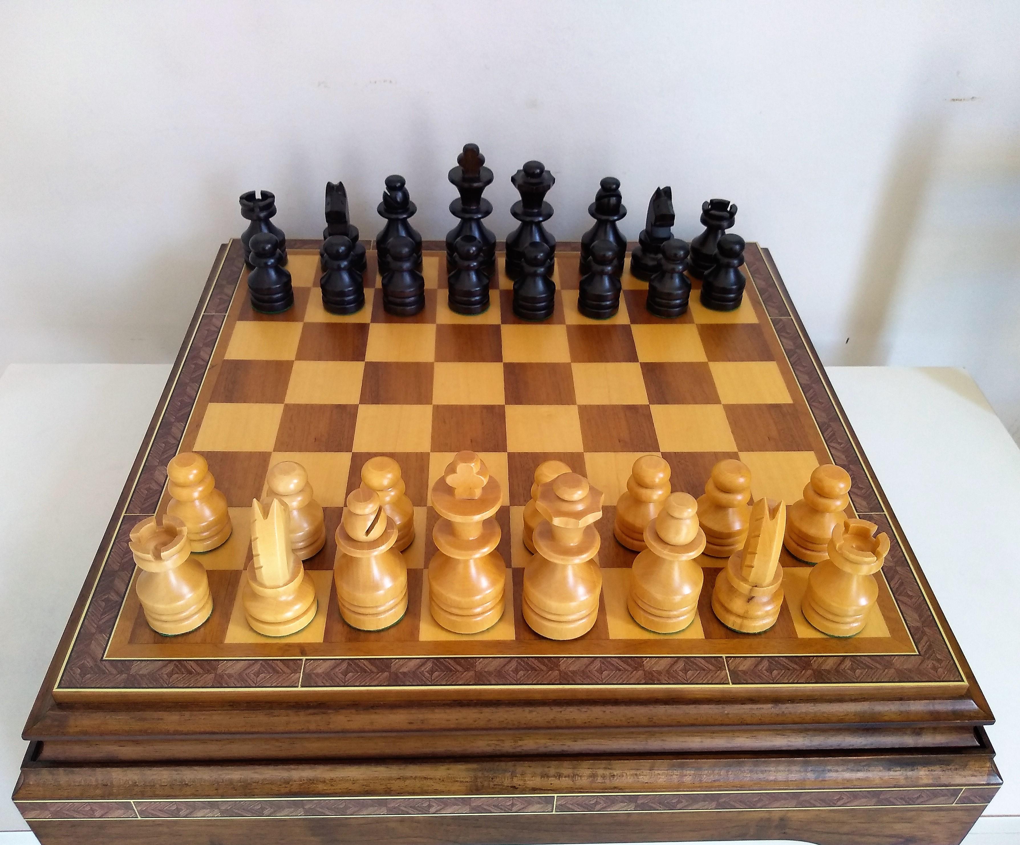 Jogo de Xadrez Pieta 3x1